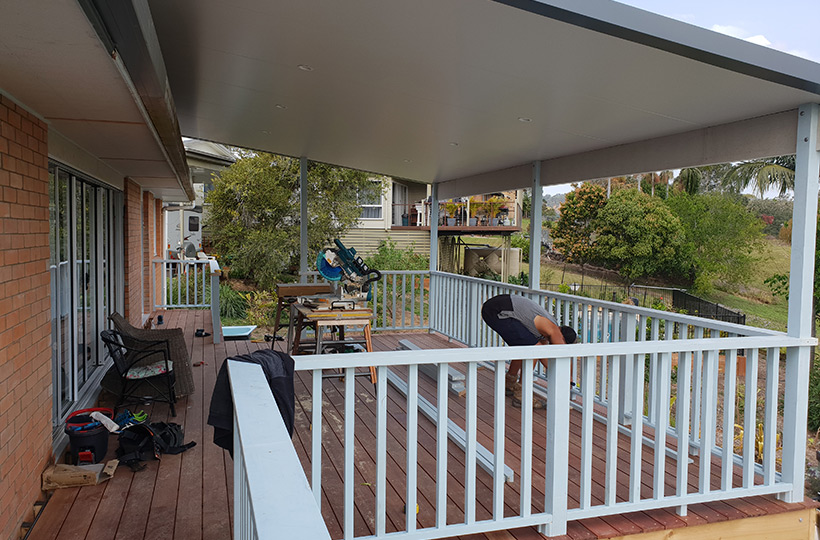 Deck extension South East Qld