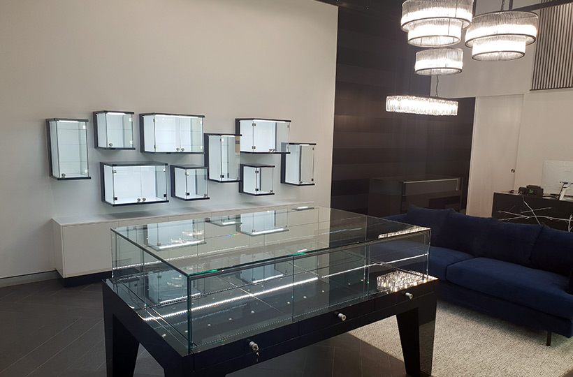 Jewellery store fit out Gold Coast
